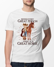Behind Every Great Person Classic T-Shirt lifestyle-mens-crewneck-front-13