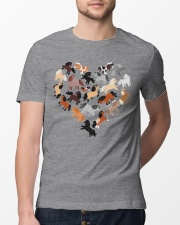 Love Horses Classic T-Shirt lifestyle-mens-crewneck-front-13