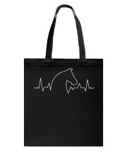 Heart Beat Horse Tote Bag thumbnail