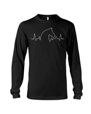 Heart Beat Horse Long Sleeve Tee thumbnail