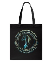 I Am The Storm Tote Bag thumbnail