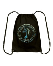 I Am The Storm Drawstring Bag tile