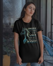 Sometimes The Have Hooves Classic T-Shirt apparel-classic-tshirt-lifestyle-08