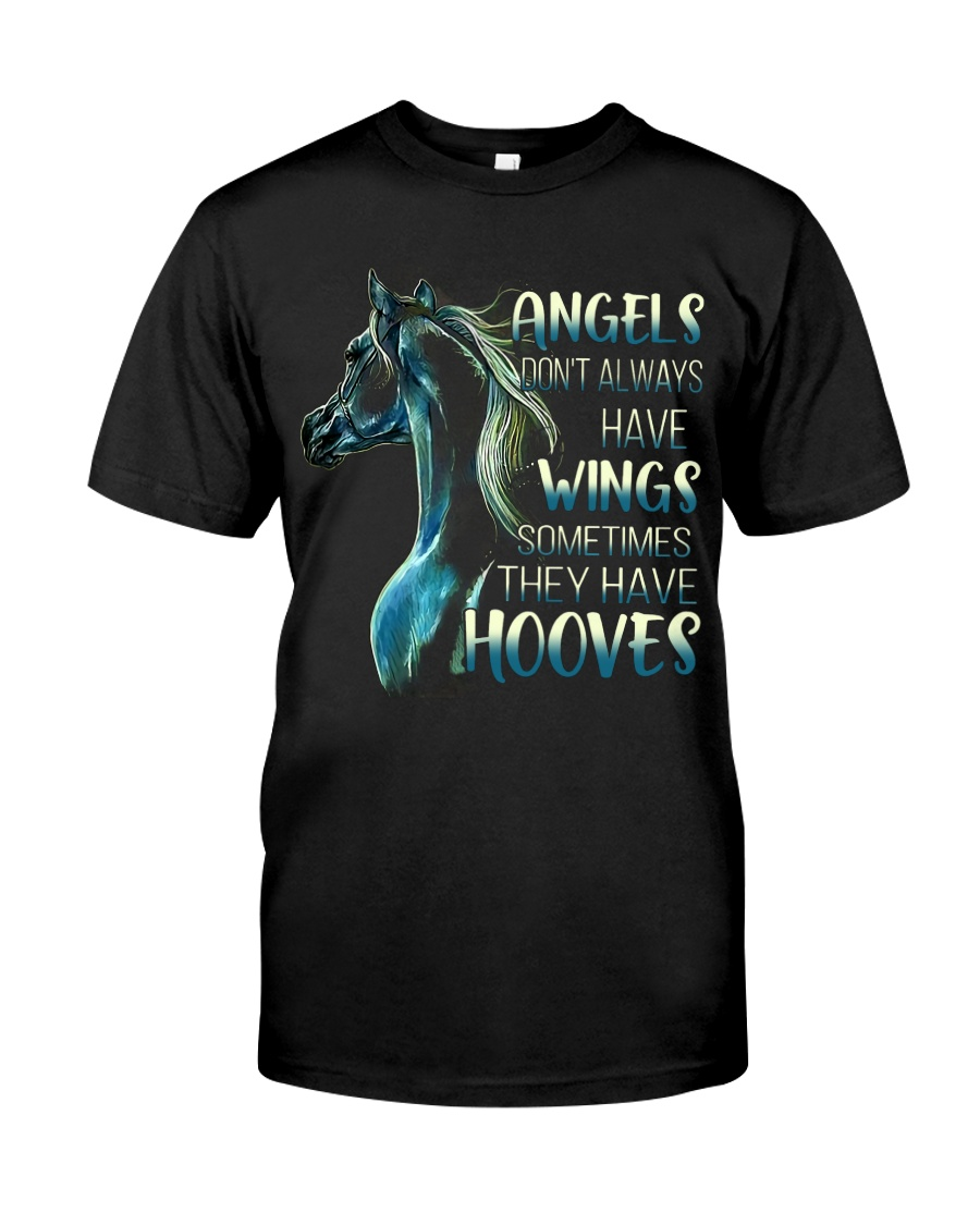 Sometimes The Have Hooves Classic T-Shirt