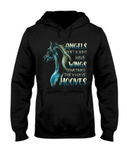 Sometimes The Have Hooves Hooded Sweatshirt thumbnail