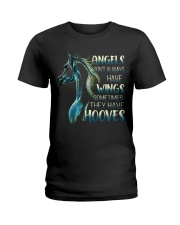 Sometimes The Have Hooves Ladies T-Shirt thumbnail
