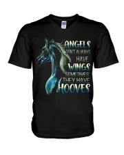 Sometimes The Have Hooves V-Neck T-Shirt thumbnail