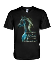 You Will Be Remembered V-Neck T-Shirt thumbnail