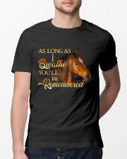 You Will Be Remembered Classic T-Shirt lifestyle-mens-crewneck-front-13