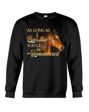 You Will Be Remembered Crewneck Sweatshirt thumbnail