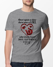 Dogs And Horses Classic T-Shirt lifestyle-mens-crewneck-front-13
