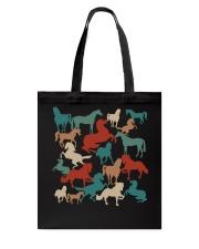 Love Horses Tote Bag thumbnail