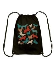 Love Horses Drawstring Bag thumbnail