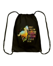 Do Not Follow Your Dream Drawstring Bag thumbnail