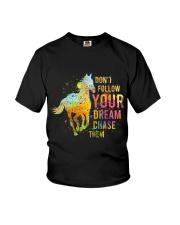 Do Not Follow Your Dream Youth T-Shirt thumbnail