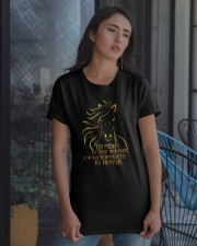 The Sound Of Hoofbeats Classic T-Shirt apparel-classic-tshirt-lifestyle-08