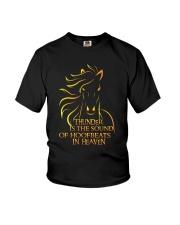 The Sound Of Hoofbeats Youth T-Shirt thumbnail