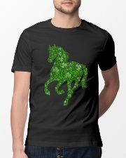 I Love Horse Classic T-Shirt lifestyle-mens-crewneck-front-13