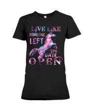 Live Like Someone Premium Fit Ladies Tee thumbnail