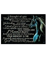 I Thought Of You 17x11 Poster front