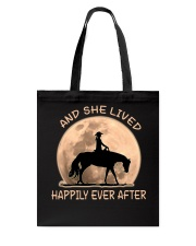 She Lived Happily Tote Bag thumbnail
