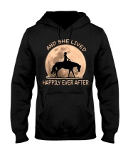 She Lived Happily Hooded Sweatshirt thumbnail