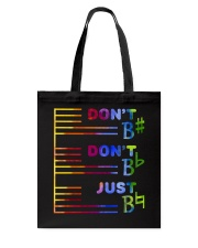Do Not Do Not Just Tote Bag thumbnail