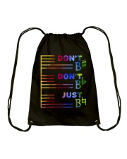 Do Not Do Not Just Drawstring Bag thumbnail