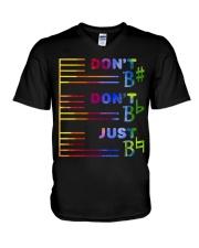 Do Not Do Not Just V-Neck T-Shirt thumbnail