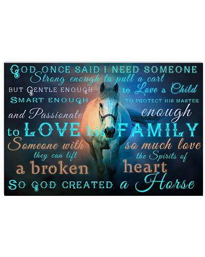 God Created A Horse