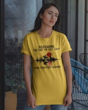 An Old Lady Classic T-Shirt apparel-classic-tshirt-lifestyle-08