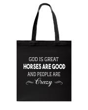 God Is Great Tote Bag thumbnail