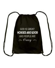God Is Great Drawstring Bag thumbnail