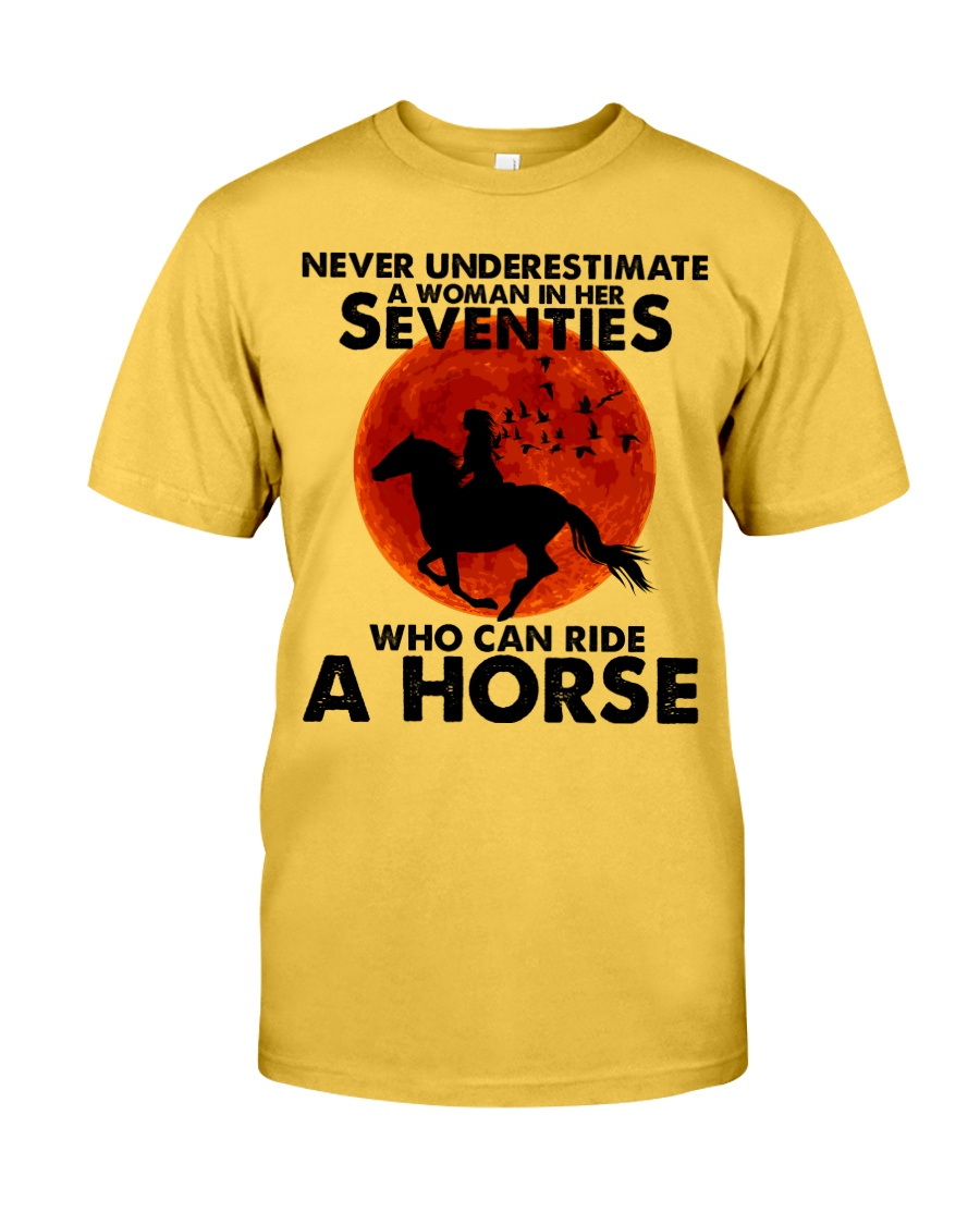 Who Can Ride A Horse Classic T-Shirt