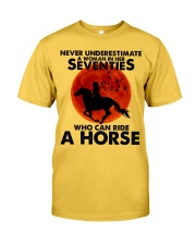 Who Can Ride A Horse Classic T-Shirt front