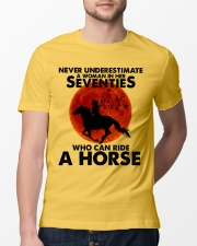 Who Can Ride A Horse Classic T-Shirt lifestyle-mens-crewneck-front-13