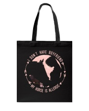 My Horse Was Allergic Tote Bag thumbnail