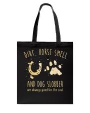 Dirt Horse Smell Tote Bag thumbnail