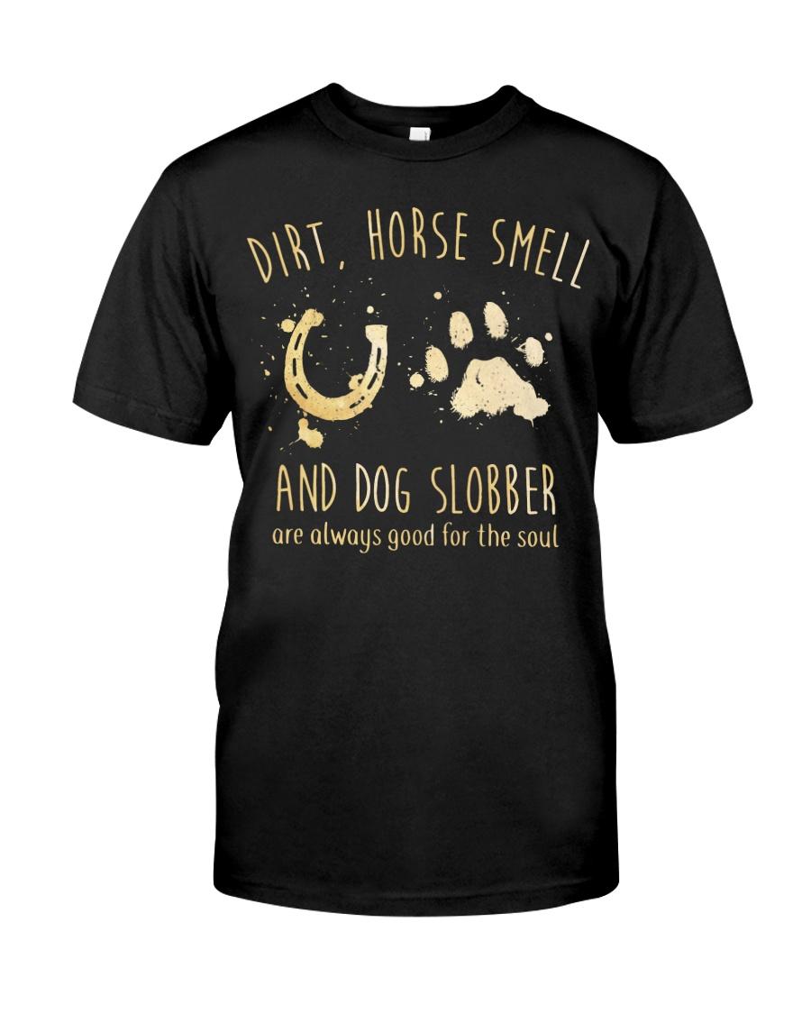 Dirt Horse Smell Classic T-Shirt