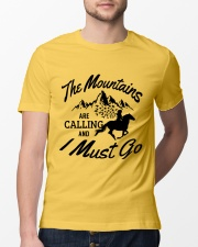 The Mountains Are Calling Classic T-Shirt lifestyle-mens-crewneck-front-13