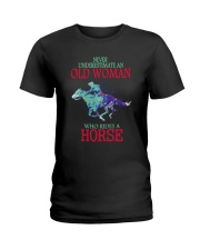 Never Underestimate Ladies T-Shirt thumbnail