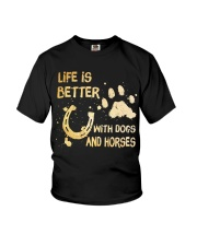 Life Is Better Youth T-Shirt thumbnail