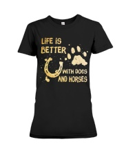 Life Is Better Premium Fit Ladies Tee thumbnail