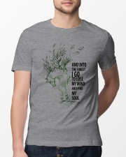 And Into The Forest I Go Classic T-Shirt lifestyle-mens-crewneck-front-13