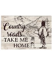 Country Roads 17x11 Poster front