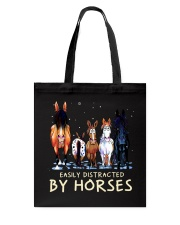 Easily Distracted By Horses Tote Bag thumbnail