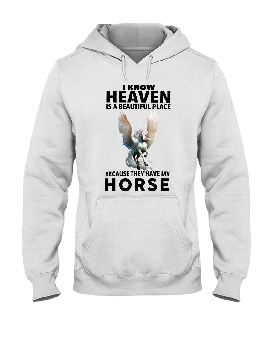 Heaven Is A Beautiful Place Hooded Sweatshirt