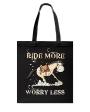 Ride More Tote Bag thumbnail