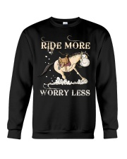 Ride More Crewneck Sweatshirt thumbnail