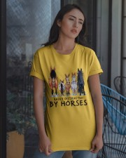 Easily Distracted By Horses Classic T-Shirt apparel-classic-tshirt-lifestyle-08